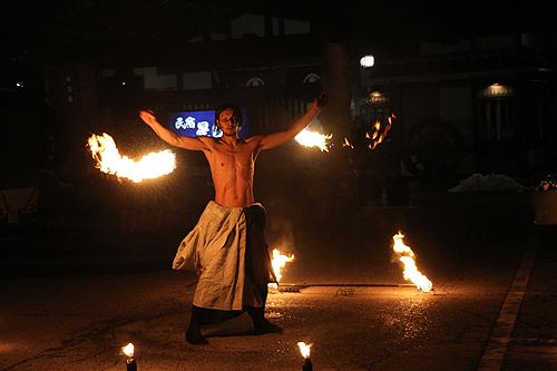 湯野上温泉火祭り プレイバック0015