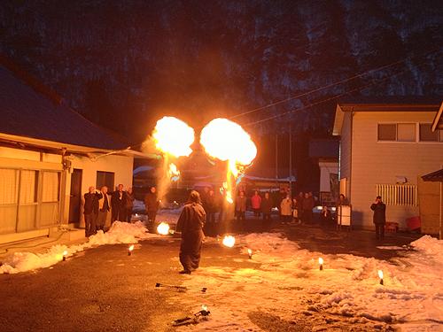 湯野上温泉火祭り プレイバック0016