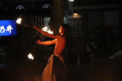 湯野上温泉火祭り プレイバック0011