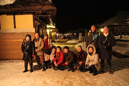 大内宿雪灯篭ツアー035