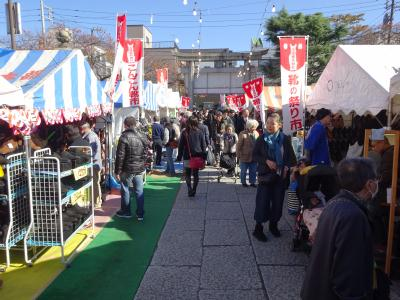 靴のめぐみ祭り市 2015