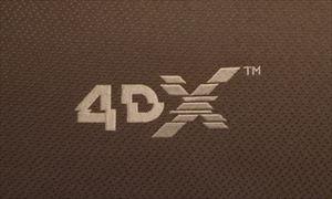 体感型4Dシアターの座席のロゴ