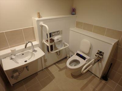 御谷湯 福祉型トイレ
