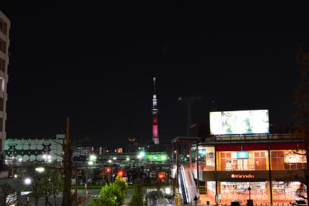 東京スカイツリー×スター・ウォーズ 公開記念ライティング