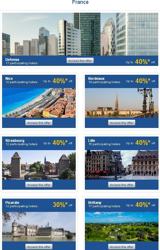 アコーホテルズ プライベートセール ヨーロッパ30%〜50%OFF