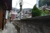 若宮神社前の道