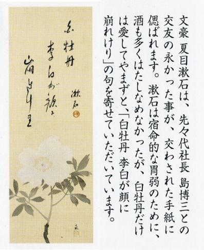白牡丹 夏目漱石 2