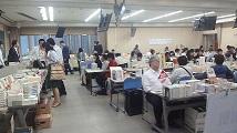 日本史研究会書籍販売の様子