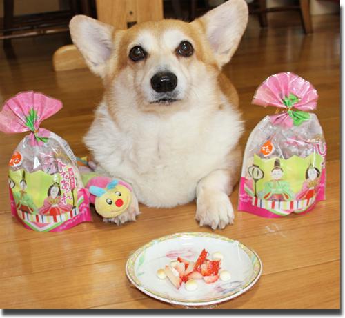 おひな様デザート