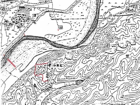 明治時代の地形図