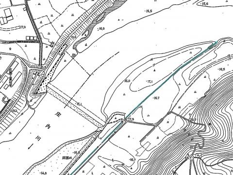 取水口都市計画図S39-S43
