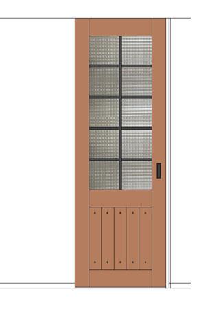 ダイニングドアデザイン