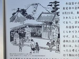 江戸時代の金剛力士像の様子