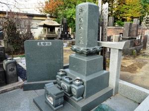 チェリスト 清水勝雄の墓
