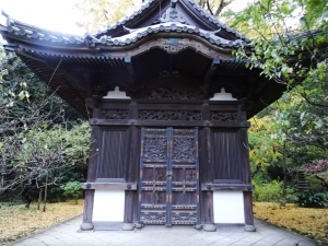 旧天瑞寺寿塔覆堂