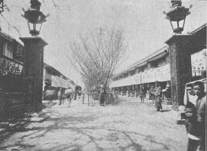 明治時代の吉原大門