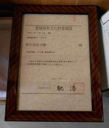 国登録文化財 プレート伝達式4