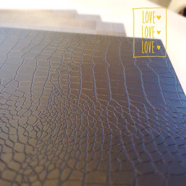 テーブルゴーディネート 折敷 クロコダイル