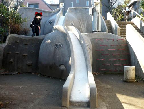東京都新宿区神楽坂 あかぎ児童遊園