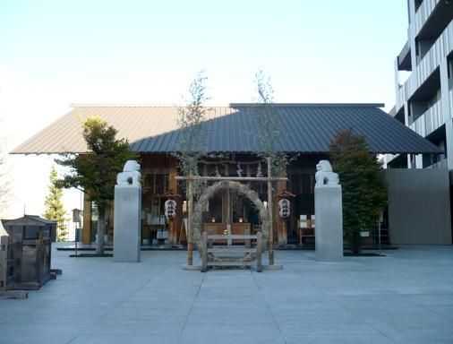 東京都新宿区神楽坂 赤城神社