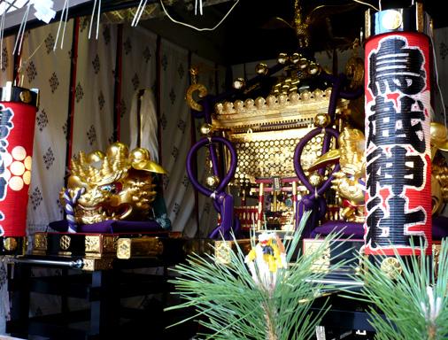 ジスタ 鳥越 in 鳥越神社