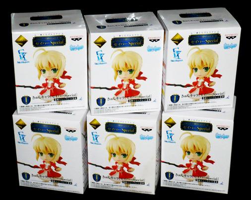バンプレスト 一番くじプレミアム Fateシリーズ 10周年記念第二弾 セイバーSpecial I賞 きゅんキャラ セイバーSpecial