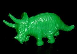 コリス フエラムネのおまけ トリケラトプス(緑)