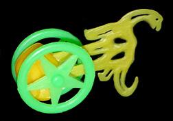 コリス フエラムネのおまけ ゆらゆらブラキオサウルス(黄)