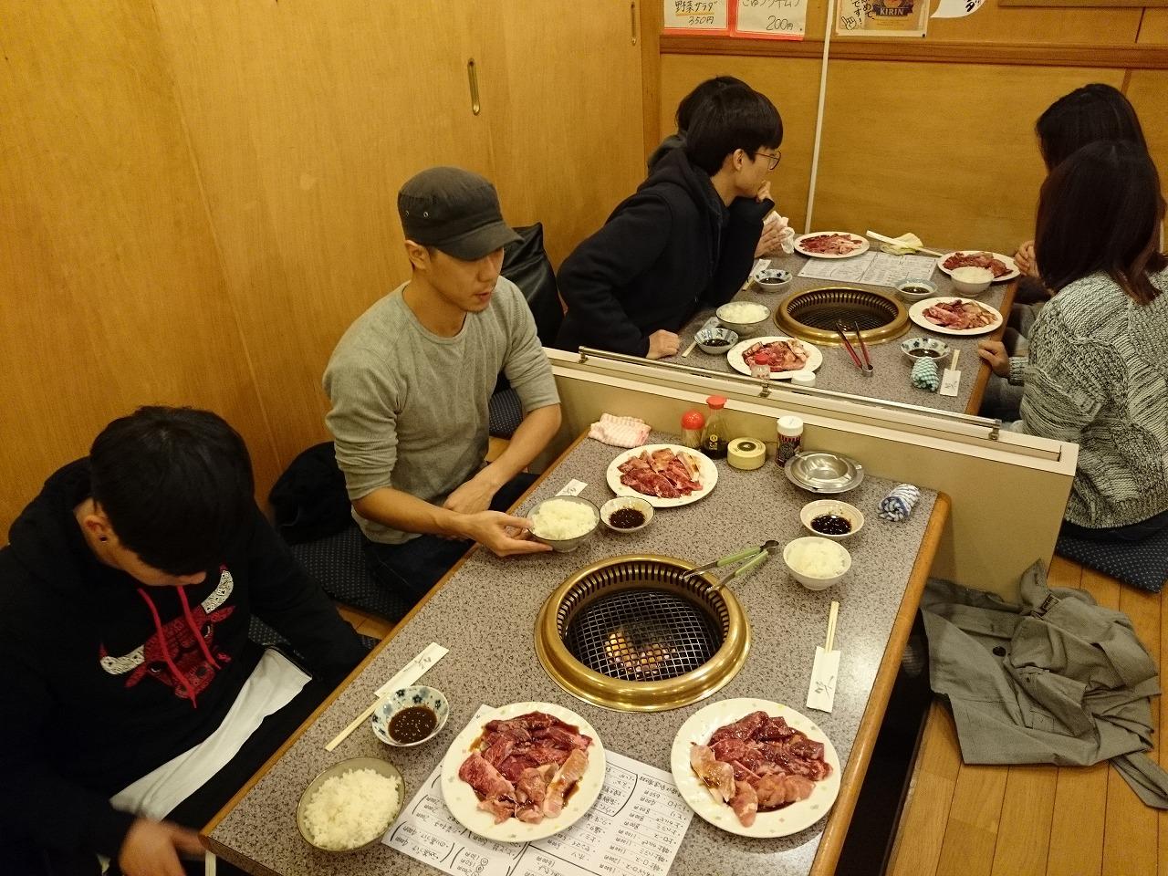 韓国の留学生さん達