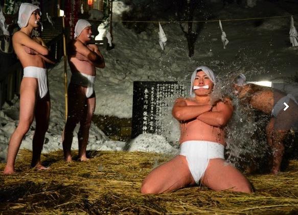 佐女川神社寒中みそぎ祭り