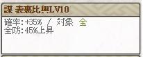 スキルLv10 謀