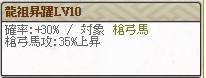 スキルLv10 龍造寺氏くれ