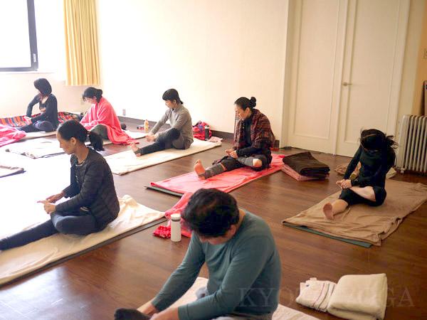 新春スペシャルクラス2016年 アシュタンガヨガ・ハタヨガ