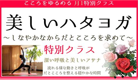 美しいハタヨガ特別クラス 京都ヨガ・IYC京都