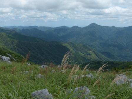四国カルストから見た風景 3