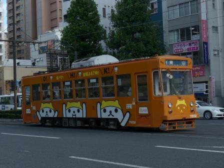 岡山電気軌道 路面電車