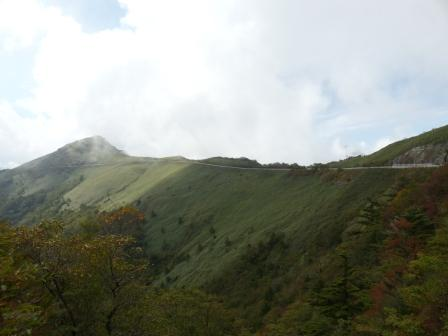 瓶ヶ森林道 風景 1