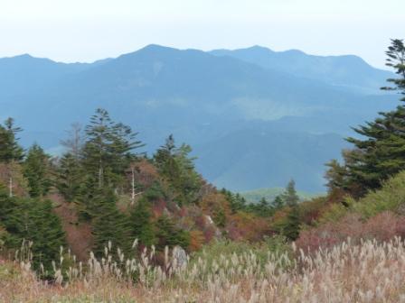 大川嶺付近からの景色 3