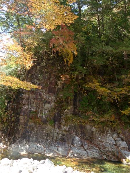 面河渓の紅葉 14