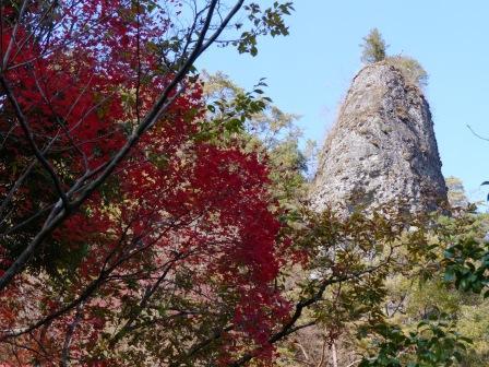 古岩屋の紅葉 7