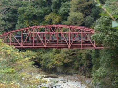 マイントピア別子 打除鉄橋 3