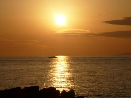 塩屋海岸 夕景 2