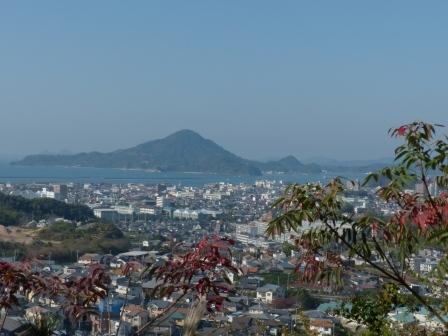松山総合公園からの眺望 1