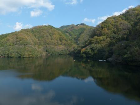 石手川ダム・白鷺湖