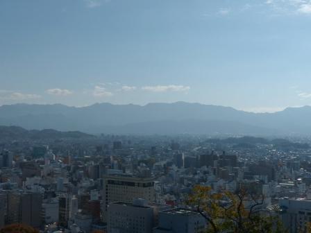 お城山からの眺め 2