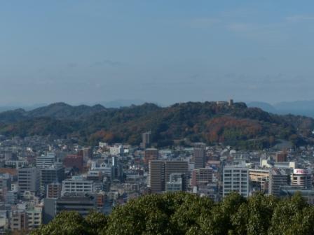 お城山からの眺め 3