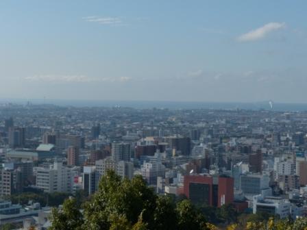 お城山からの眺め 9