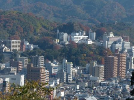 お城山からの眺め 6