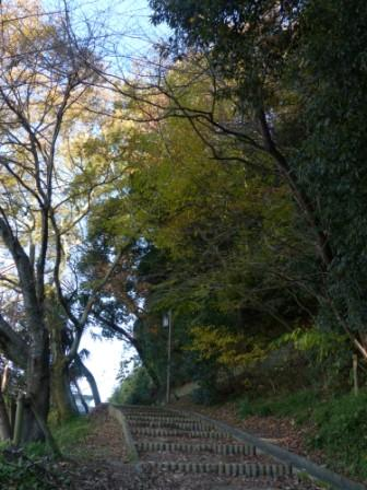 お城山 古町口登城道 2