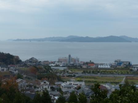 宅並山からの眺め 2